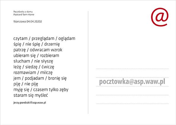 Pocztówka od Jerzy Porębski