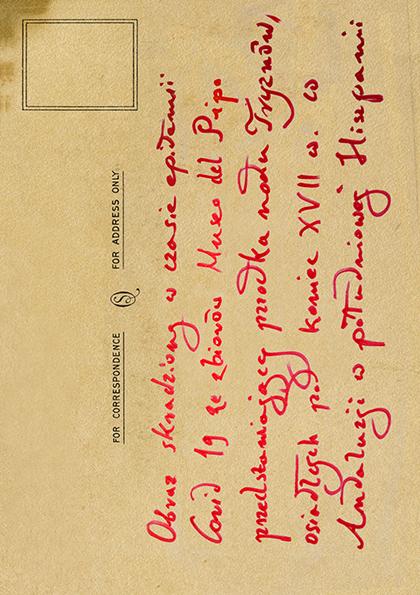 Pocztówka od Tymon Tryzno