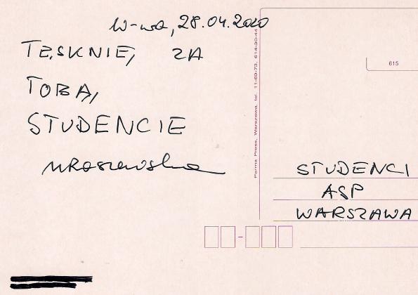 Pocztówka od Magdalena Raszewska