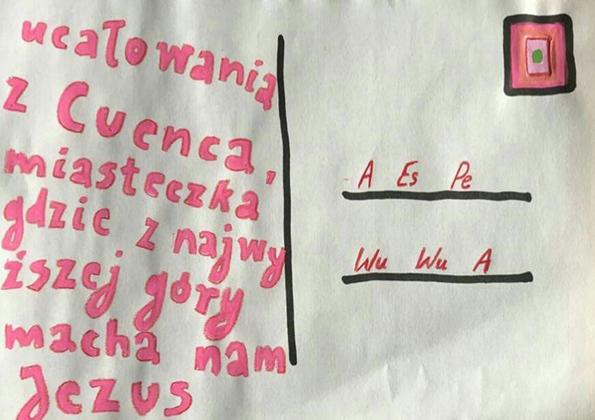 Pocztówka od Anna Grzymała