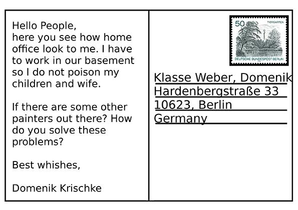 Pocztówka od Domenik Krischke