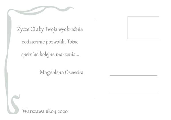 Pocztówka od Magdalena Osewska
